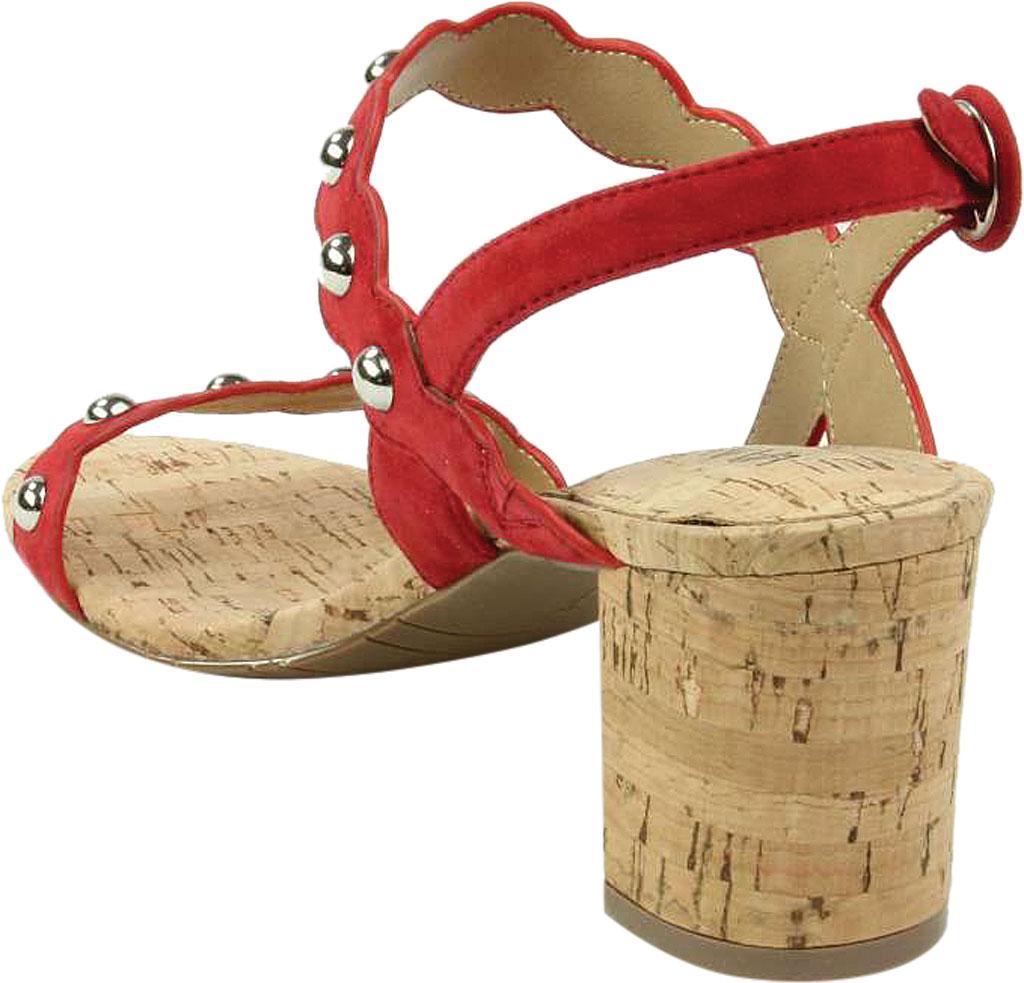 Women's VANELi Mavis Heeled Slingback Sandal, Red Suede, large, image 4