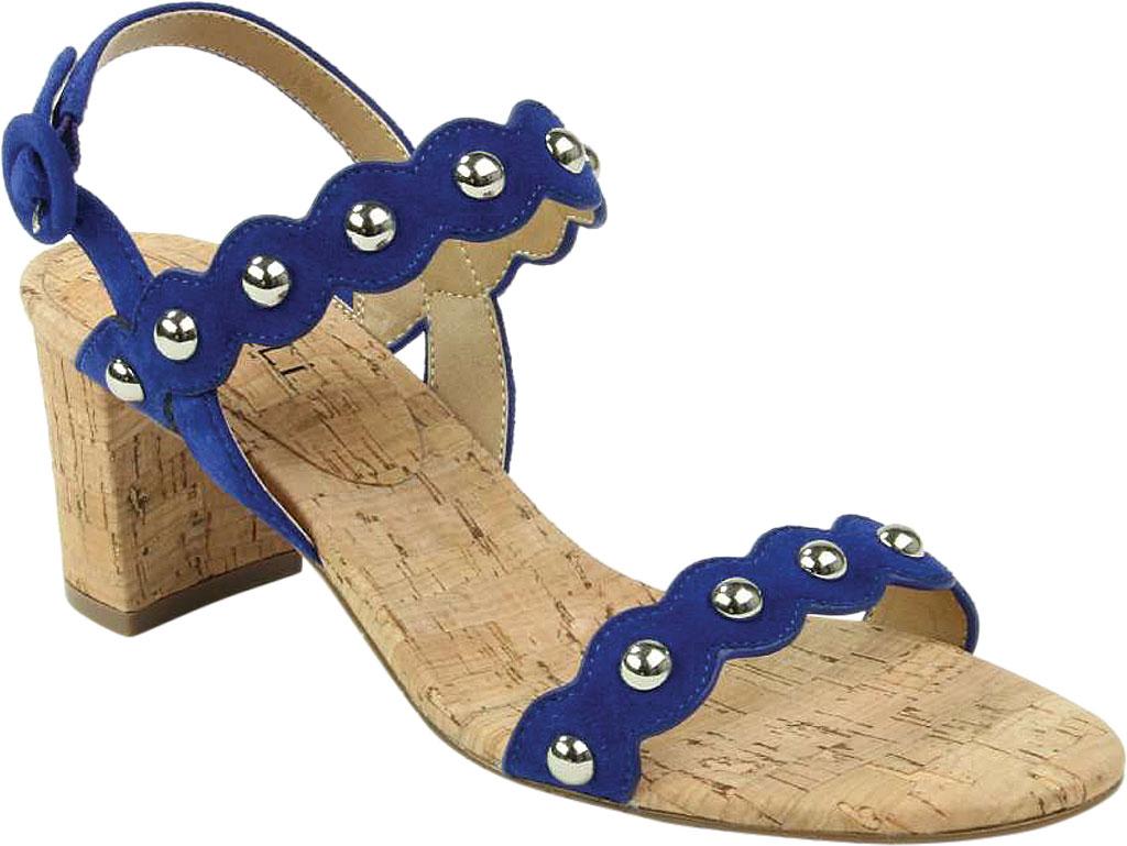 Women's VANELi Mavis Heeled Slingback Sandal, Jordan Blue Suede, large, image 1