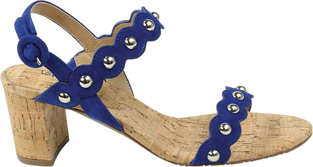 Women's VANELi Mavis Heeled Slingback Sandal, Jordan Blue Suede, large, image 2