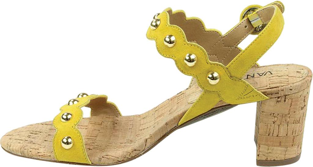 Women's VANELi Mavis Heeled Slingback Sandal, Yellow Suede, large, image 3