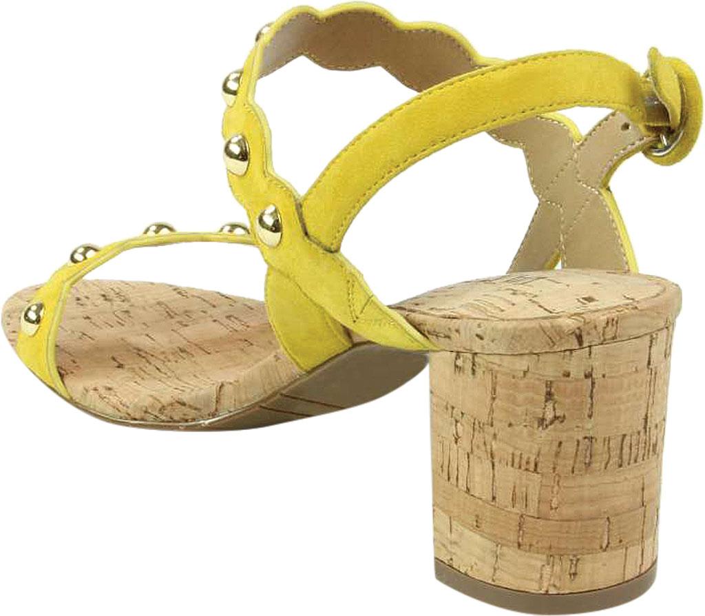 Women's VANELi Mavis Heeled Slingback Sandal, Yellow Suede, large, image 4