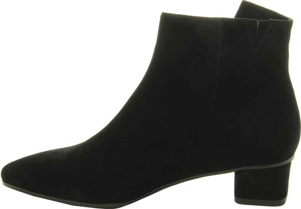 Women's VANELi Liking Pointed Toe Ankle Bootie, Black Suede, large, image 3
