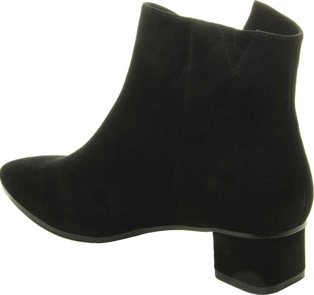 Women's VANELi Liking Pointed Toe Ankle Bootie, Black Suede, large, image 4