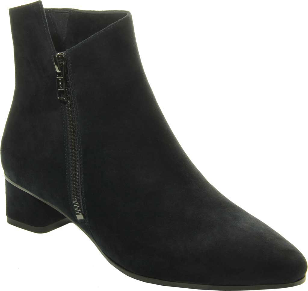 Women's VANELi Liking Pointed Toe Ankle Bootie, Navy Suede, large, image 1