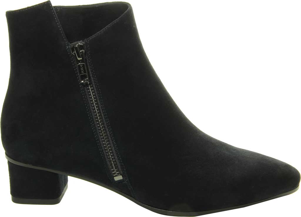 Women's VANELi Liking Pointed Toe Ankle Bootie, Navy Suede, large, image 2