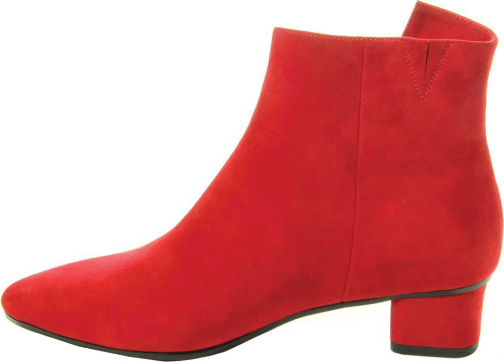 Women's VANELi Liking Pointed Toe Ankle Bootie, Red Suede, large, image 3