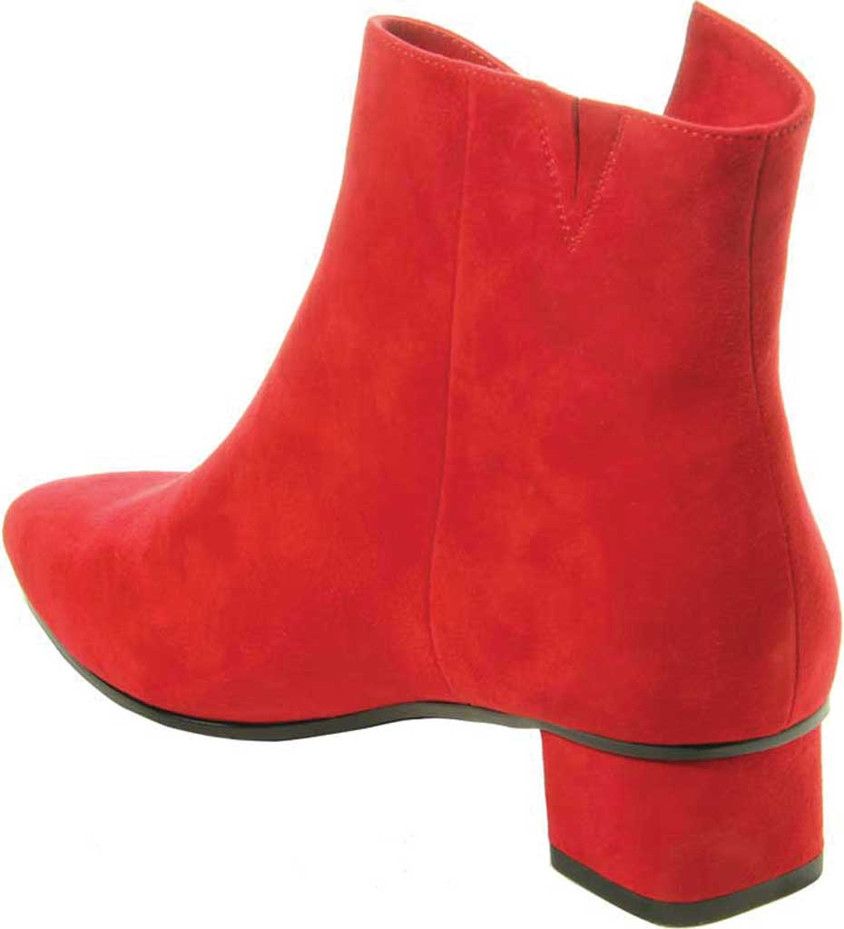 Women's VANELi Liking Pointed Toe Ankle Bootie, Red Suede, large, image 4