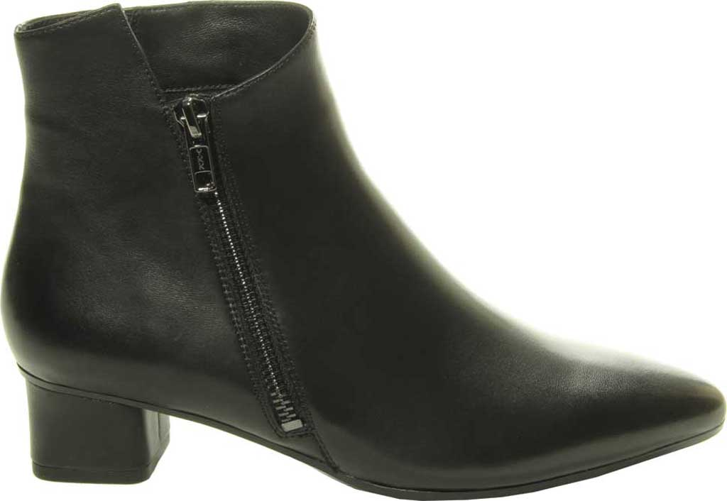 Women's VANELi Liking Pointed Toe Ankle Bootie, Black Nappa Leather, large, image 2