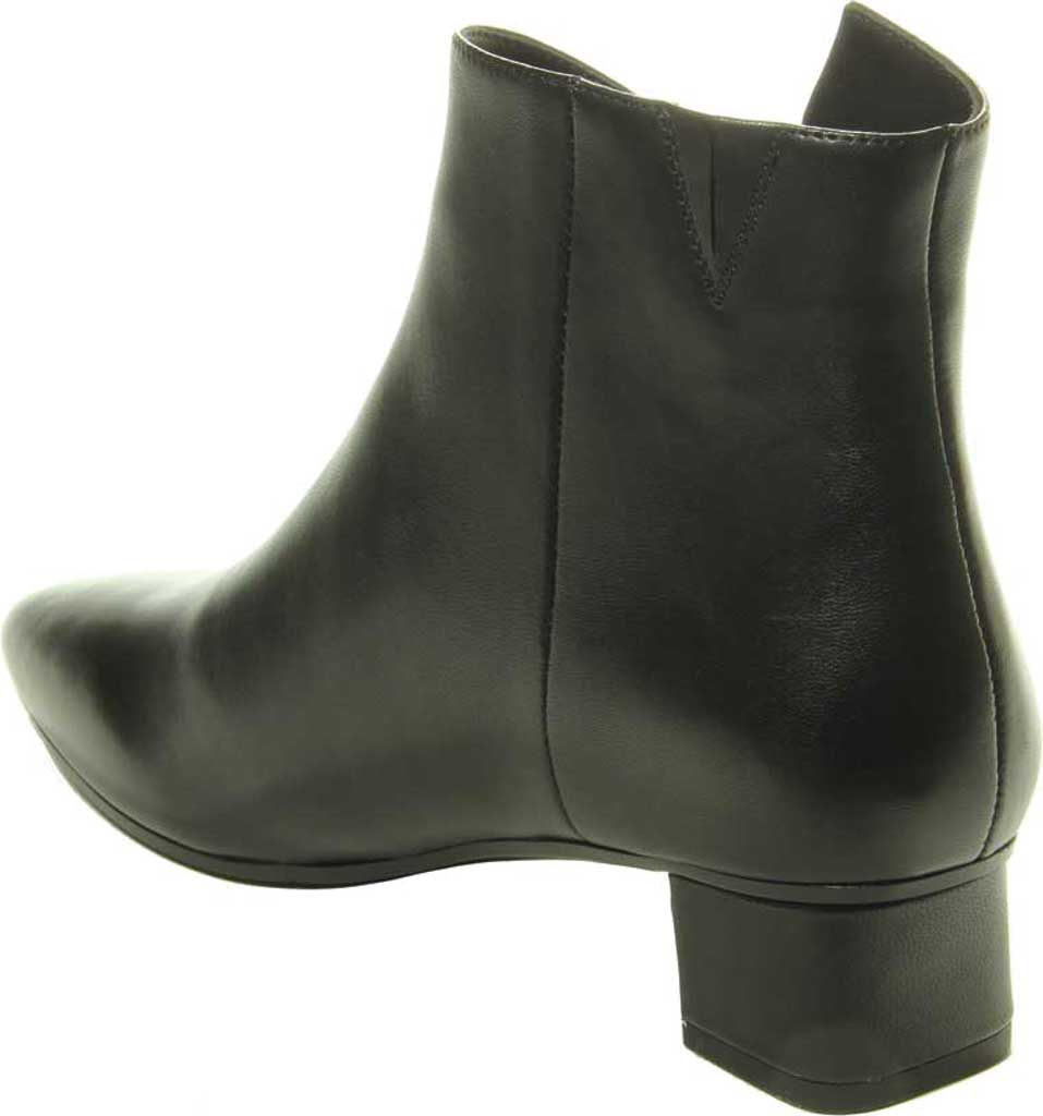 Women's VANELi Liking Pointed Toe Ankle Bootie, Black Nappa Leather, large, image 4