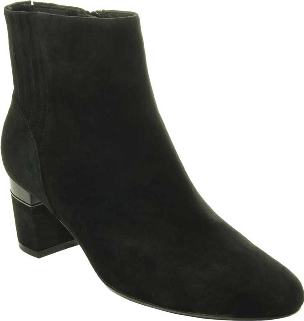 Women's VANELi Decima Ankle Bootie, Black Suede, large, image 1