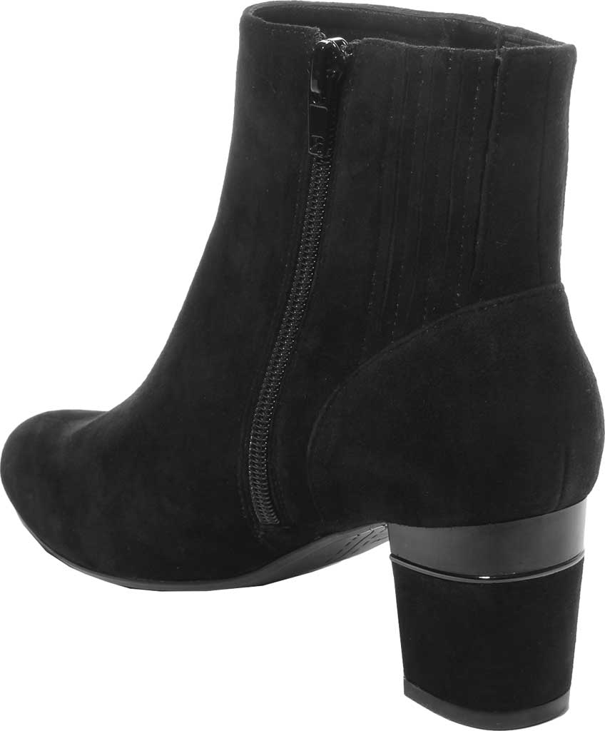 Women's VANELi Decima Ankle Bootie, Black Suede, large, image 4