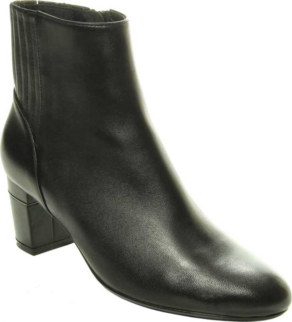 Women's VANELi Decima Ankle Bootie, Black Nappa Leather, large, image 1