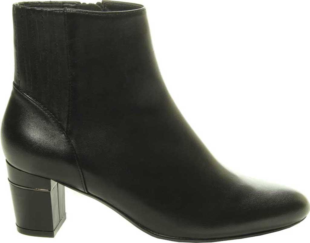 Women's VANELi Decima Ankle Bootie, Black Nappa Leather, large, image 2