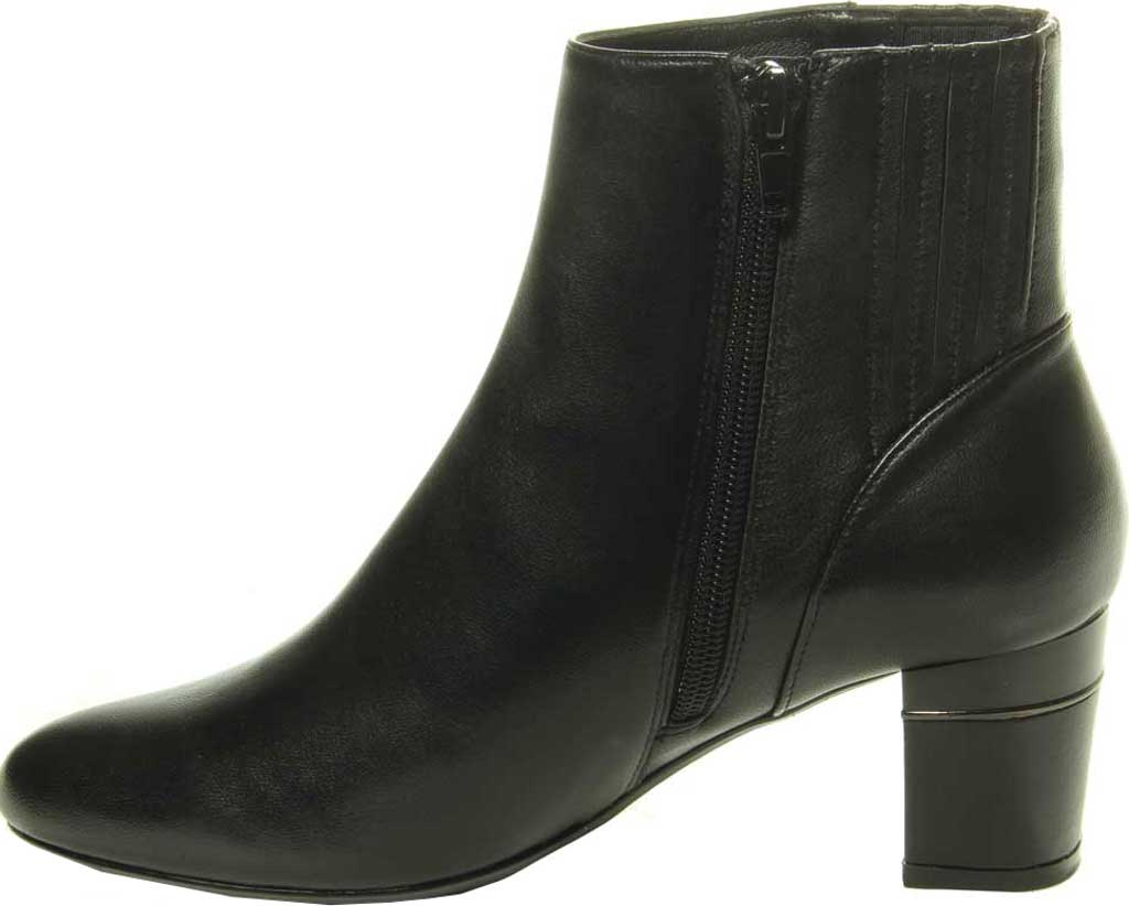 Women's VANELi Decima Ankle Bootie, Black Nappa Leather, large, image 3