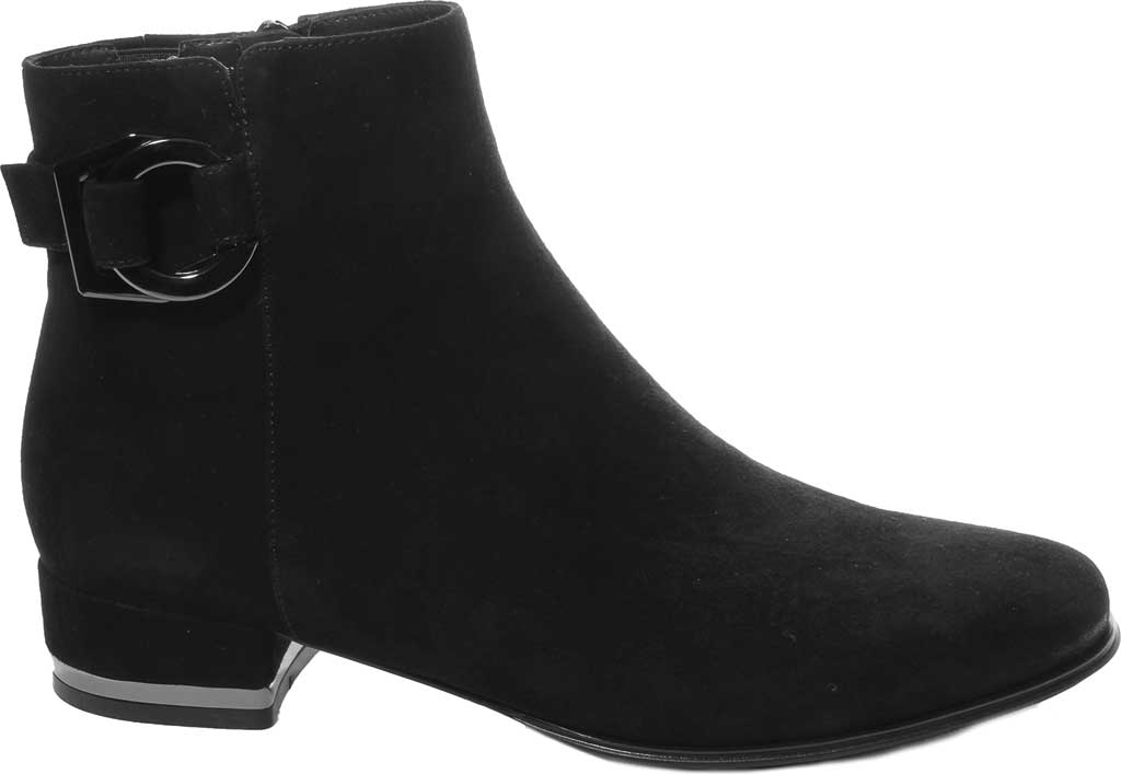Women's VANELi Admon Ankle Bootie, Black Suede, large, image 2