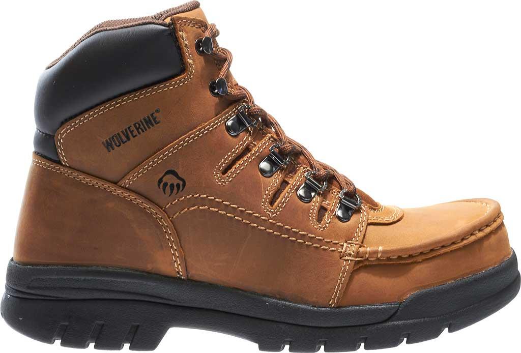 "Men's Wolverine Potomac 6"" English Moc Steel Toe EH Boot, Brown, large, image 2"