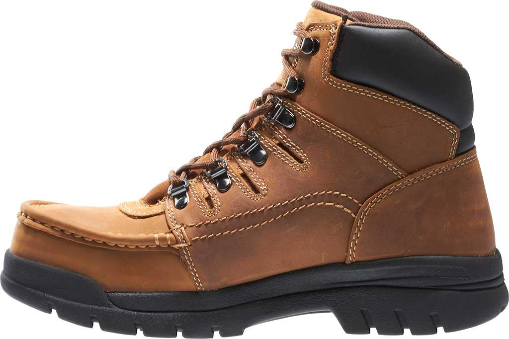 "Men's Wolverine Potomac 6"" English Moc Steel Toe EH Boot, Brown, large, image 3"