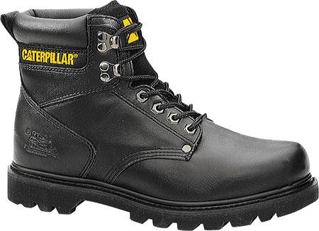 Men's Caterpillar Second Shift Work Boot, Black Seminole, large, image 2
