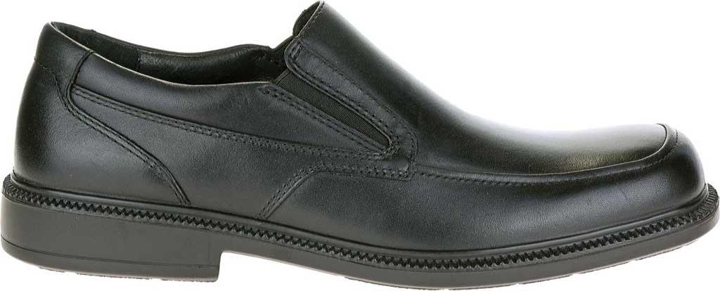 Men's Hush Puppies Leverage, Black Leather, large, image 2