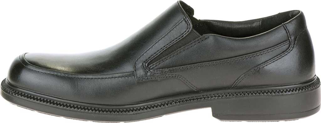 Men's Hush Puppies Leverage, Black Leather, large, image 3