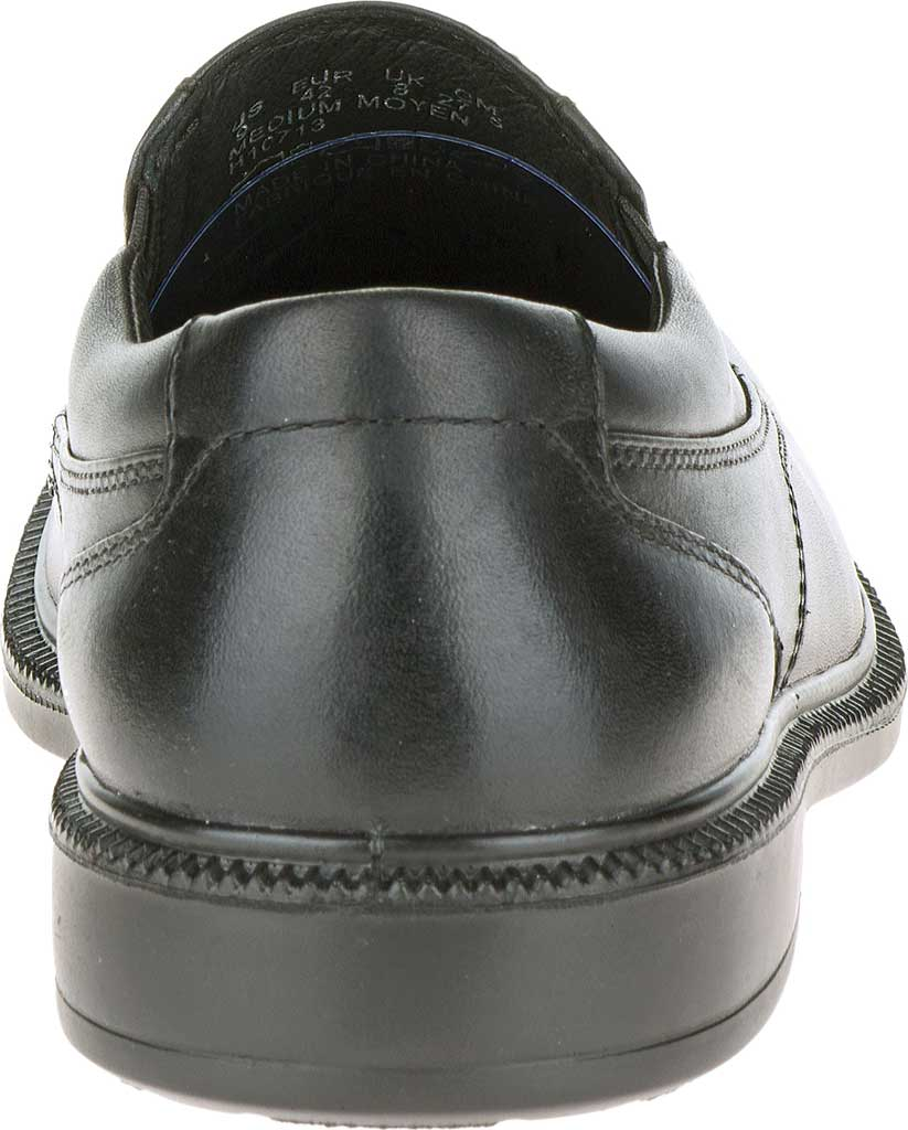 Men's Hush Puppies Leverage, Black Leather, large, image 4