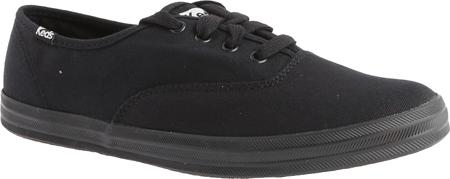 Women's Keds Champion Oxford Canvas Sneaker, Black/Black, large, image 1
