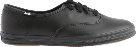 Women's Keds Champion Oxford Leather Sneaker, Black, large, image 2