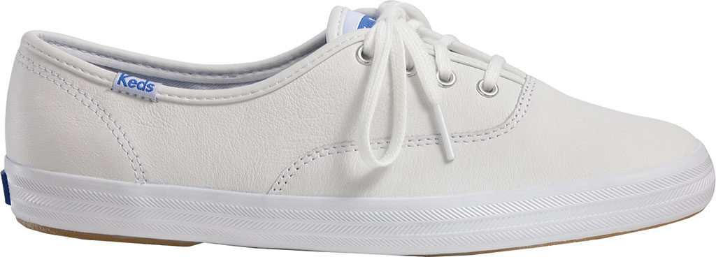 Women's Keds Champion Oxford Leather Sneaker, White, large, image 1