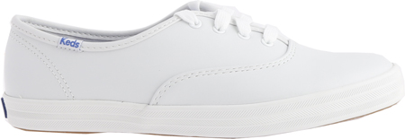 Women's Keds Champion Oxford Leather Sneaker, White, large, image 2