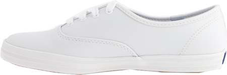 Women's Keds Champion Oxford Leather Sneaker, White, large, image 3