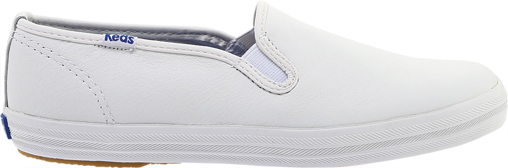 Women's Keds Champion Slip On Leather, White, large, image 2
