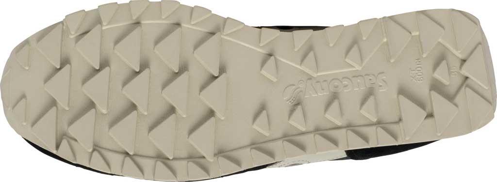 Men's Saucony Originals Jazz Low Pro Sneaker, Black/Cream Nylon/Suede, large, image 5