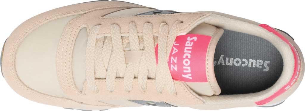 Women's Saucony Originals Jazz Low Pro Sneaker, Tan/Grey, large, image 4