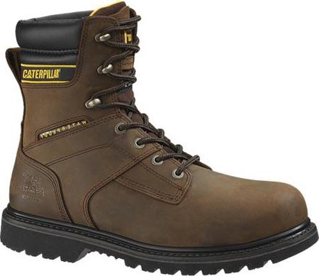 """Men's Caterpillar Salvo 8"""" Waterproof Steel Toe Boot, Dark Brown, large, image 1"""