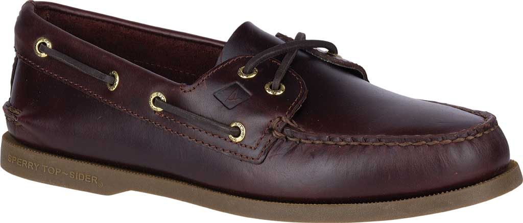 Men's Sperry Top-Sider Authentic Original Boat Shoe, Amaretto, large, image 1