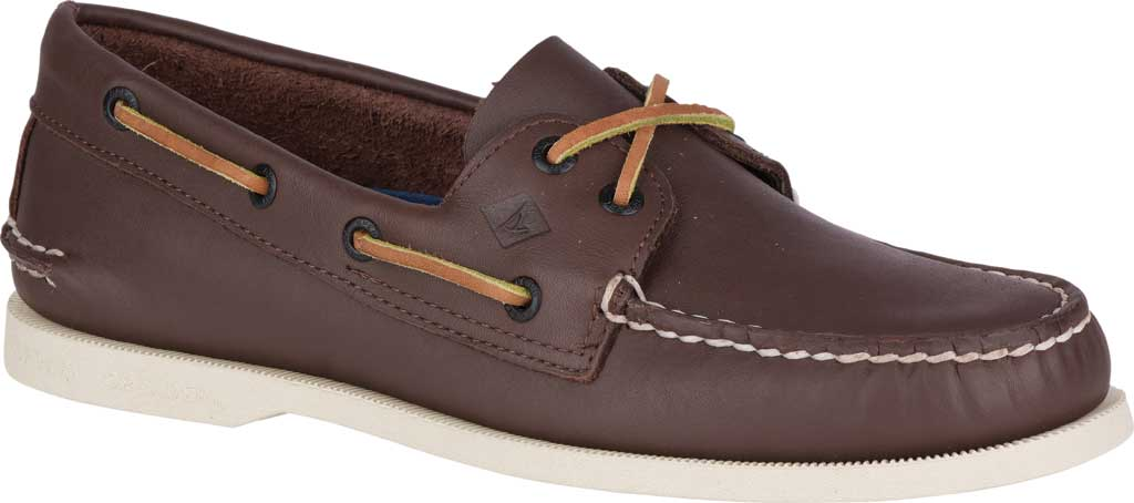 Men's Sperry Top-Sider Authentic Original Boat Shoe, Classic Brown, large, image 1