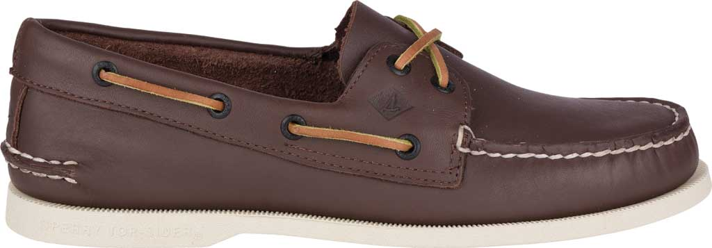 Men's Sperry Top-Sider Authentic Original Boat Shoe, Classic Brown, large, image 2
