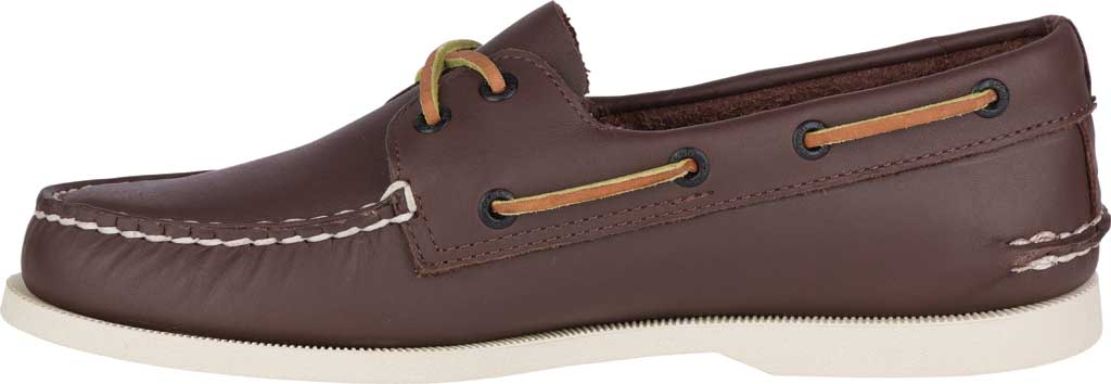 Men's Sperry Top-Sider Authentic Original Boat Shoe, Classic Brown, large, image 3