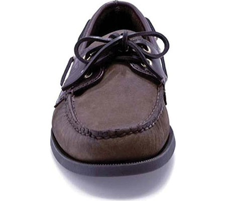 Men's Sperry Top-Sider Authentic Original Boat Shoe, Brown/Brown, large, image 4
