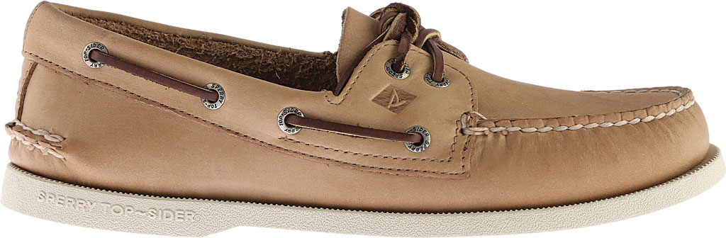 Men's Sperry Top-Sider Authentic Original Boat Shoe, Oatmeal, large, image 2