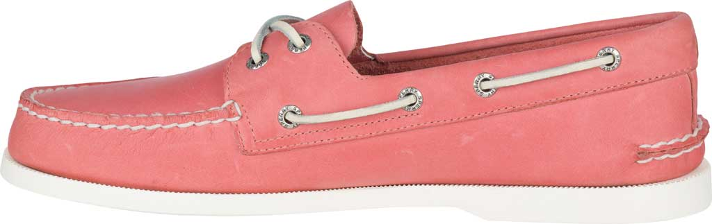Men's Sperry Top-Sider Authentic Original Boat Shoe, Nantucket Red Full Grain Leather, large, image 3