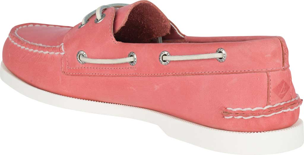 Men's Sperry Top-Sider Authentic Original Boat Shoe, Nantucket Red Full Grain Leather, large, image 4