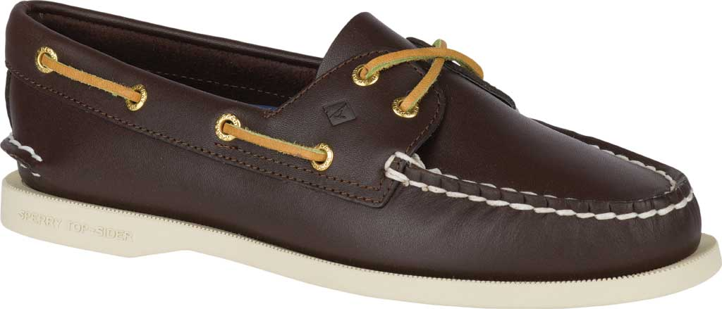 Women's Sperry Top-Sider Authentic Original Boat Shoe, Brown, large, image 1