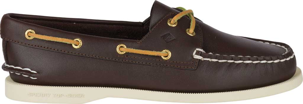 Women's Sperry Top-Sider Authentic Original Boat Shoe, Brown, large, image 2