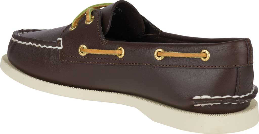 Women's Sperry Top-Sider Authentic Original Boat Shoe, Brown, large, image 4