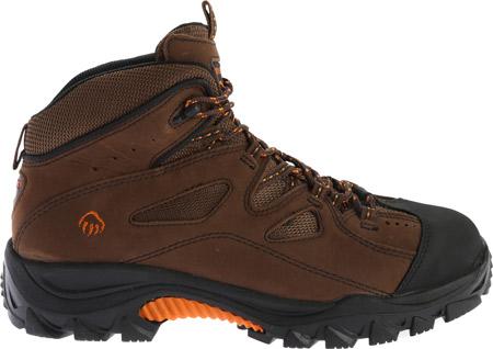 Men's Wolverine Hudson Steel Toe Hiker, Dark Brown, large, image 2