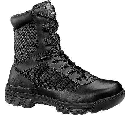 """Women's Bates 8"""" Tactical Sport Side Zip E02700, Black, large, image 1"""