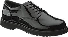 Men's Bates High Gloss Duty E22141, Black, large, image 1
