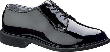 Men's Bates High Gloss Uniform E00941, Black, large, image 1