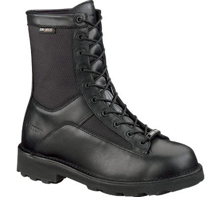 """Men's Bates 8"""" DuraShocks GORE-TEX Lace Toe E031, Black, large, image 1"""
